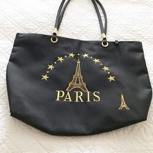 PARIS CANVAS TOTE NWOT
